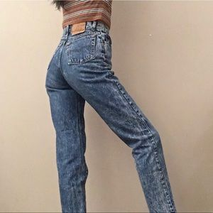 Levi's Acid Wash Button Fly straight Jeans 29/32